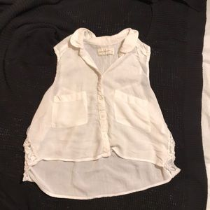 Abercrombie and Fitch Sleeveless Crop Top